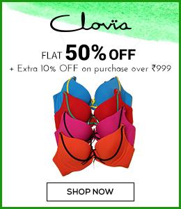 clovia Flat 50